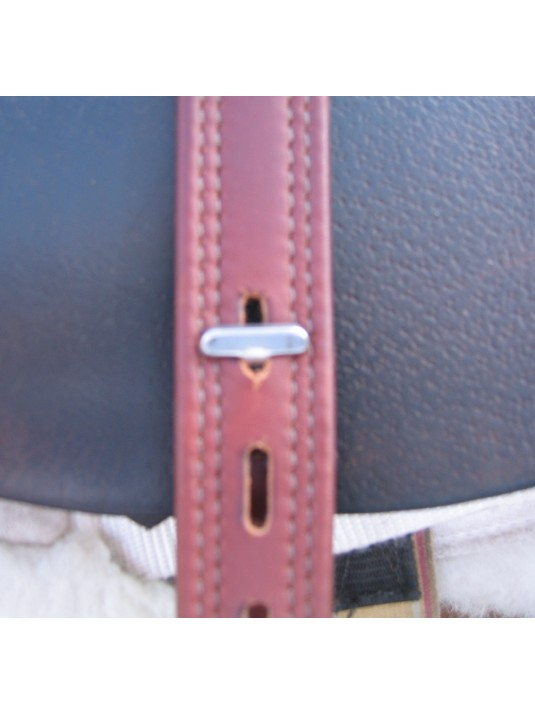 T Bar Stirrup Leathers in 26 inch length image 3