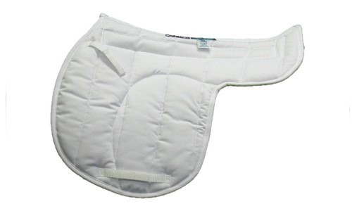 All Saddle Shaped Pads, made in our       Cushion Quilt